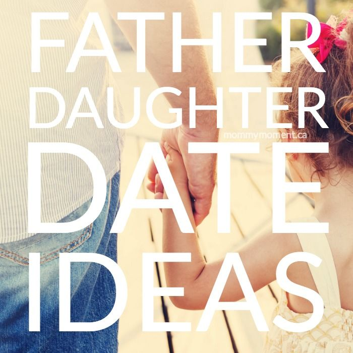 Did you know that daughters who go on dates with their fathers have healthier relationships? Here are some great father daughter date night ideas