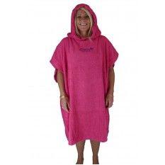 Zuma Jay Hooded Change Towel Pink