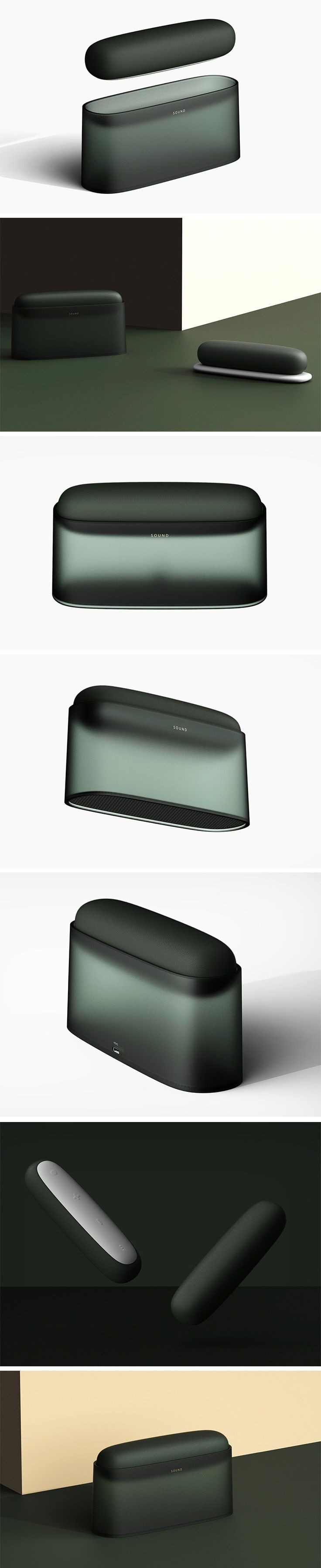 This is the Microphone Speaker by Zhao Hu. Unlike …