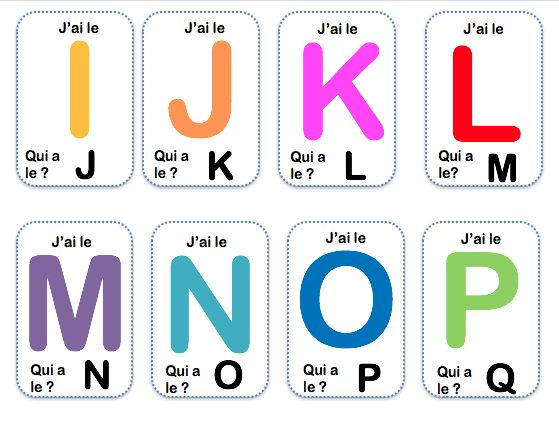 Apprendre les lettres de l'alphabet – La maternelle de Vivi
