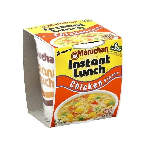 Maruchan Ramen Chicken Noodle Soup Mix 2.25 oz ❤ liked on Polyvore featuring filler