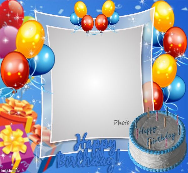 Student Birthday List Template - Blue Layouts
