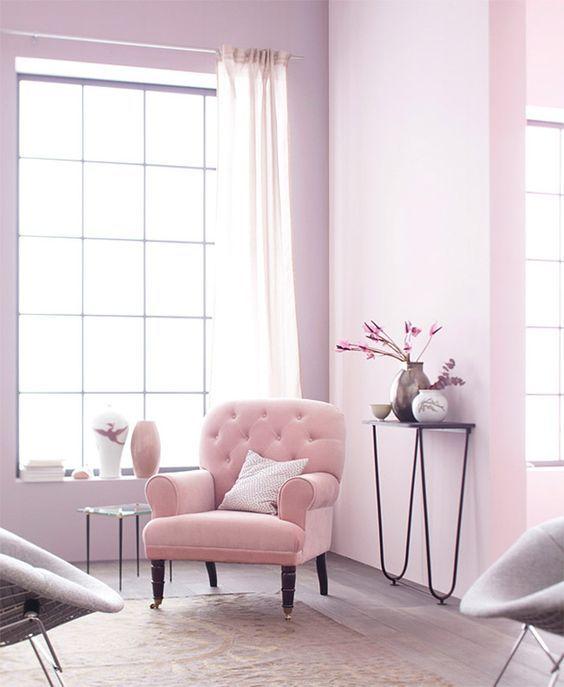 Salon Rose Bonbon : Une Idée Déco Douce Et Parfaitement Féminine