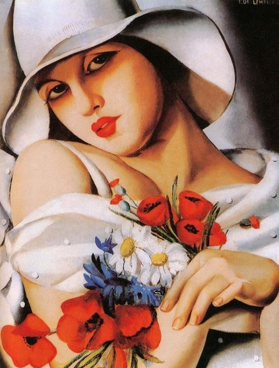 Art Decó painting.
