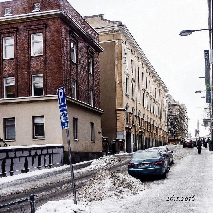 Tampere_Pellavatehtaankatu. Kuvaaja:Seppo Vuorinen