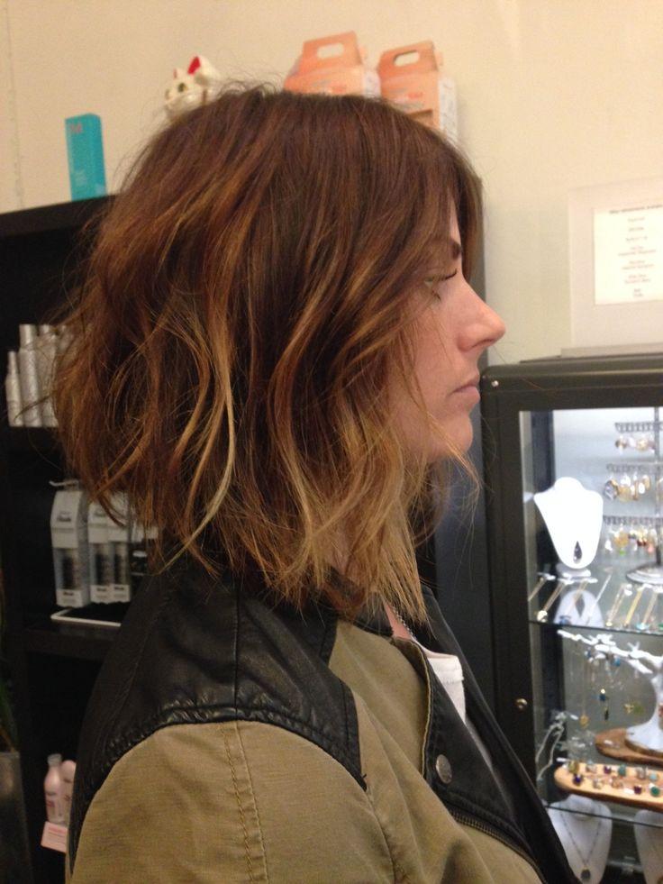 Andrea miller LeFevre hair. The lab a salon. Balayage . Ombré. San Diego. Color specialist. Blonde specialist. Long bob. A line bob. Hair cu...