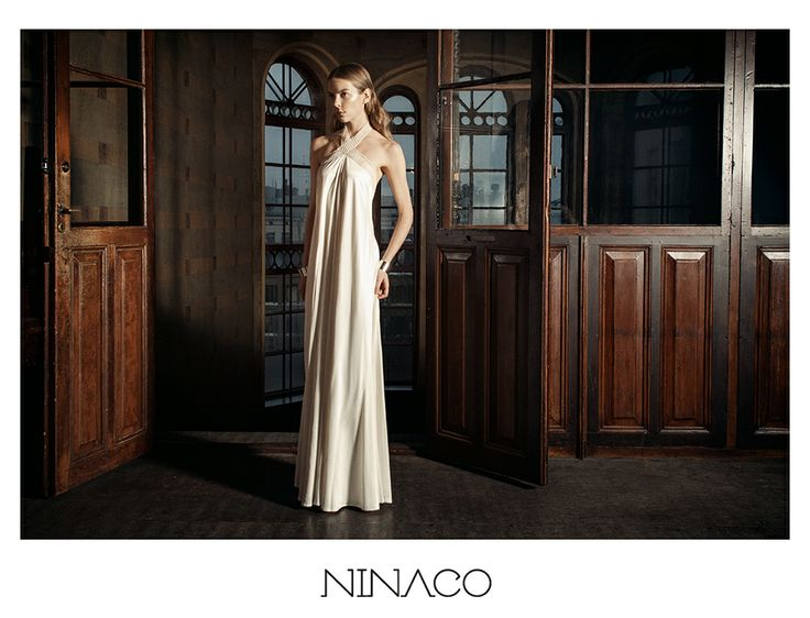 white long gown couture #ninaco #design #fashion