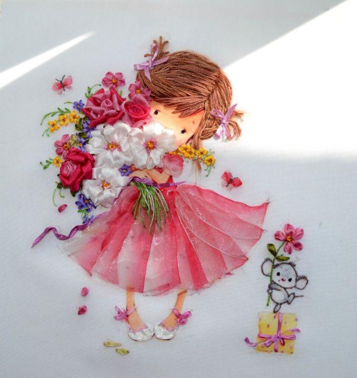 *RIBBON ART ~ Gallery.ru / Photo # 41 - Embroidery - Talliya