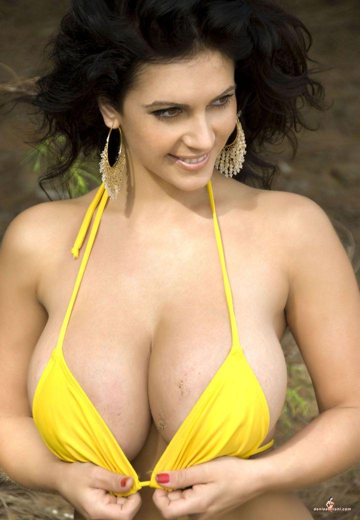 milani yellow bikini