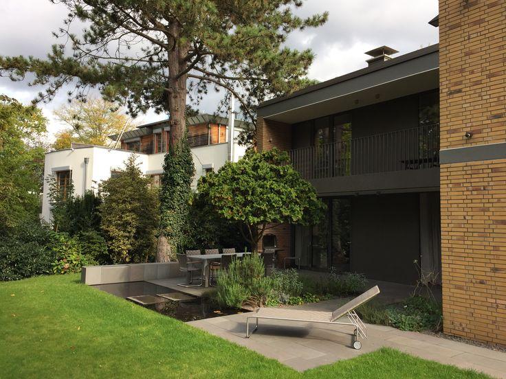 27 besten Familiengarten Bilder auf Pinterest - terrassengestaltung mit wasserbecken