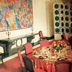 1970's interiors | 1000+ ideas about Sargent Shriver on Pinterest | Rose Kennedy, Eunice ...