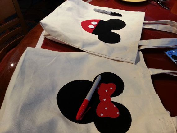 Disney Autograph Memory book Tote Bag Book Mickey Mouse signature Character Signatures Disney Souvenir