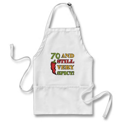 Home Aprons 70th Birthday And For Women