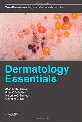 Dermatology essentials / edited by Jean L. Bolognia... [et. al.].   Saunders-Elsevier, 2014-------- Bibliografía recomendada : DERMATOLOXÍA, Grao de Medicina, 5º