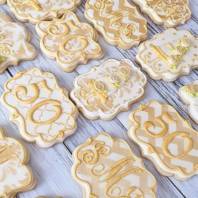 Best 25+ 50th Anniversary Cookies Ideas On Pinterest