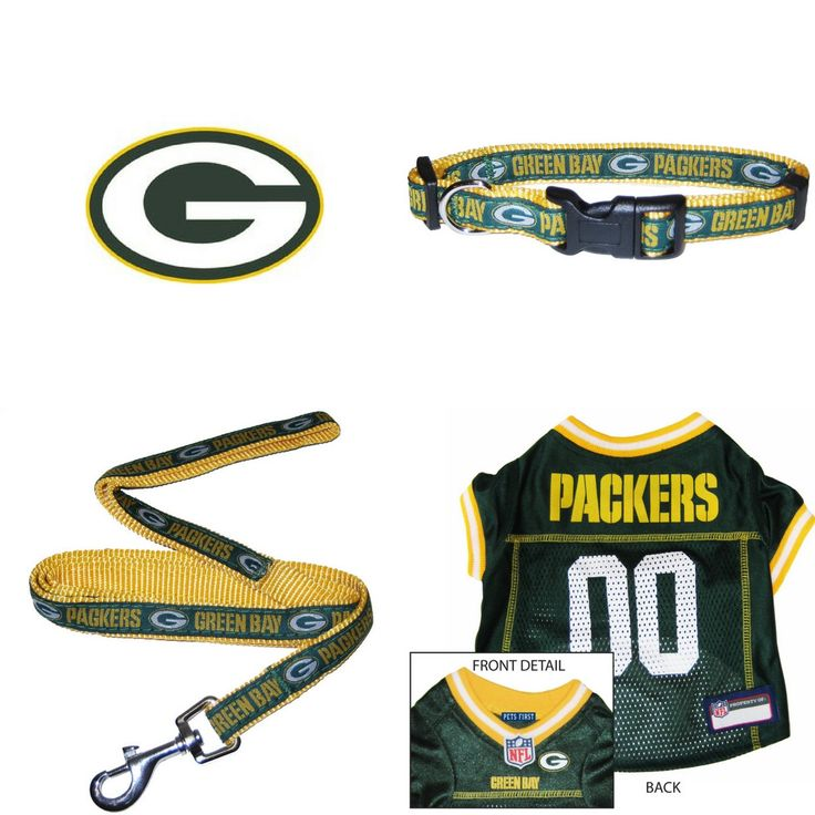 Show off your team pride by dressing your four legged friend in this stylish Green Bay Packers team gear on game day. That way you will ensure that they too show their devoted support and team spirit.