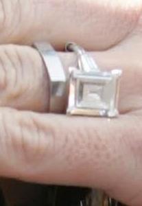 Demi Moore (Ashton Kutcher) wedding rings.