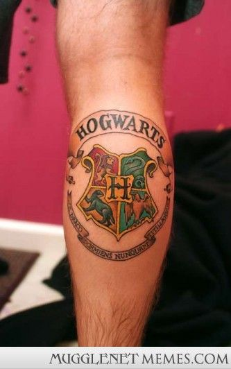 17 Harry Potter Tattoos From the Worlds Craziest Fans