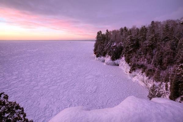 五大湖最大のスペリオル湖