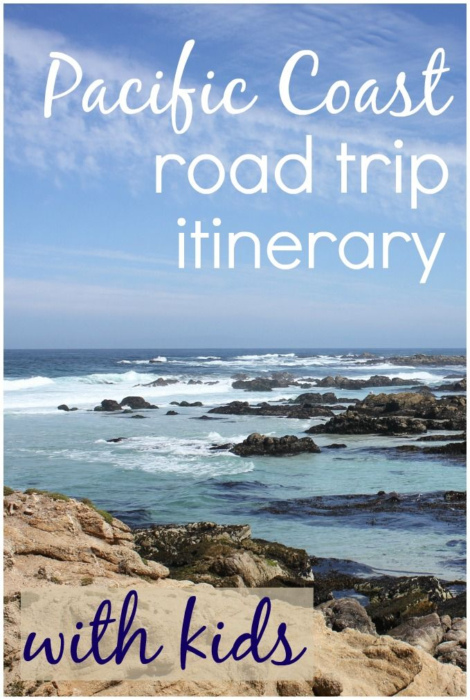 A 10 day itinerary for a Pacific Coast road trip with kids - heading down Highway 1 in California from San Francisco to Pismo Beach with a few great places to stop along the way #pch #pacficcoasthighway #roadtrip #roadtripwithkids #familyroadtrip #highwayone #highway1 #mummytravels