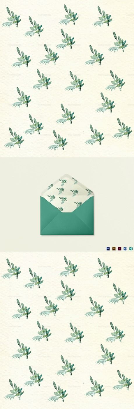 Nautical Wedding Envelope Template $15  Formats Included :Illustrator, InDesign, MS Word, Photoshop, Publisher File Size :6x7 Inchs