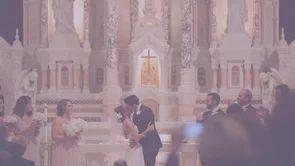 Stephanie + Brian // San Francisco Wedding // Saints Peter & Paul Church // The Olympic Club #sanfrancisco #wedding #film #video #saintspeterandpaul #catholic #church #olympicclub #videographer