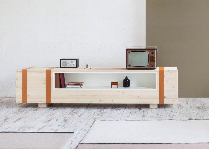 Daniele Cristiano's sideboard mimics an ammunition box