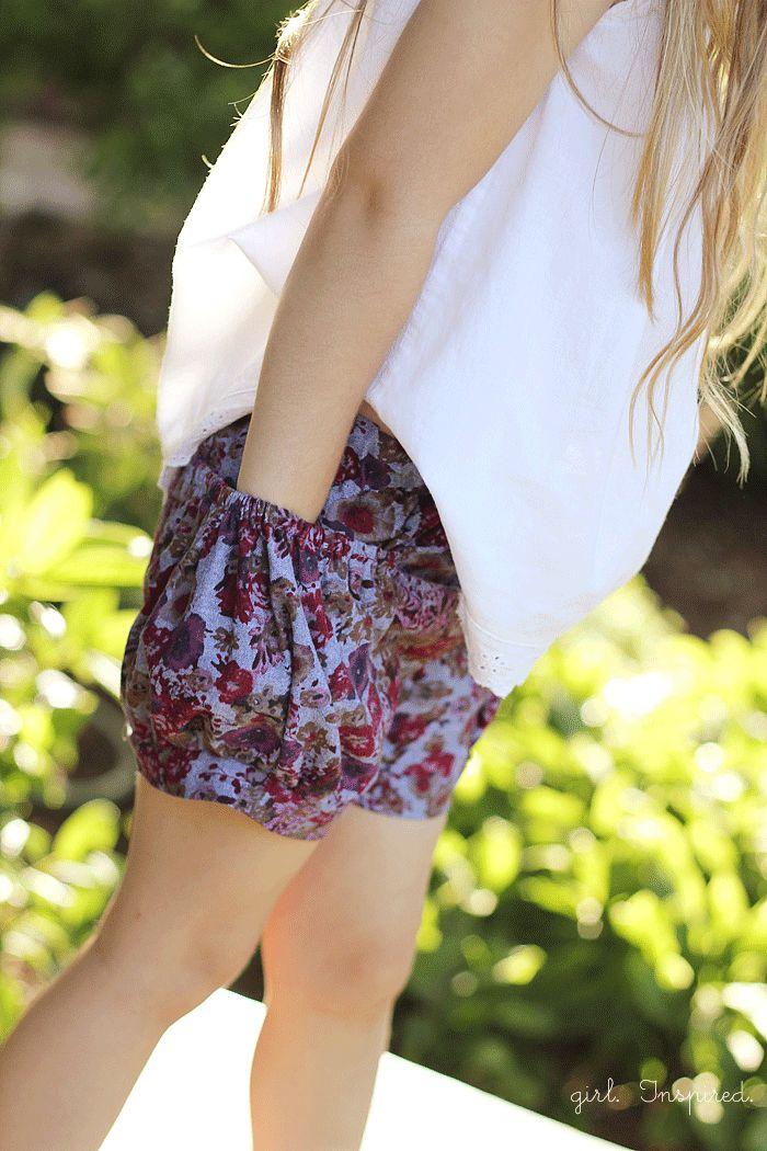 Bubble Pocket Shorts Cuteness