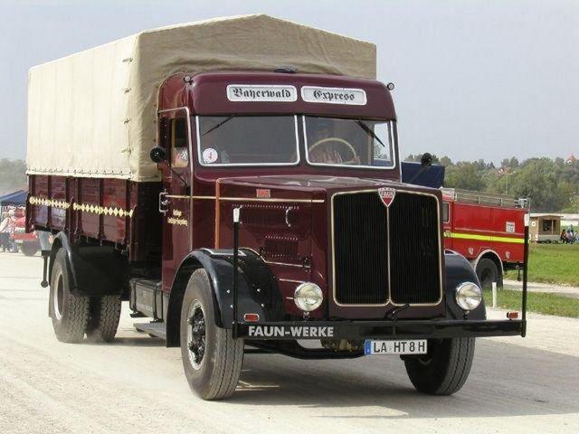 Faun LA-HT-8H Bayerwald Express