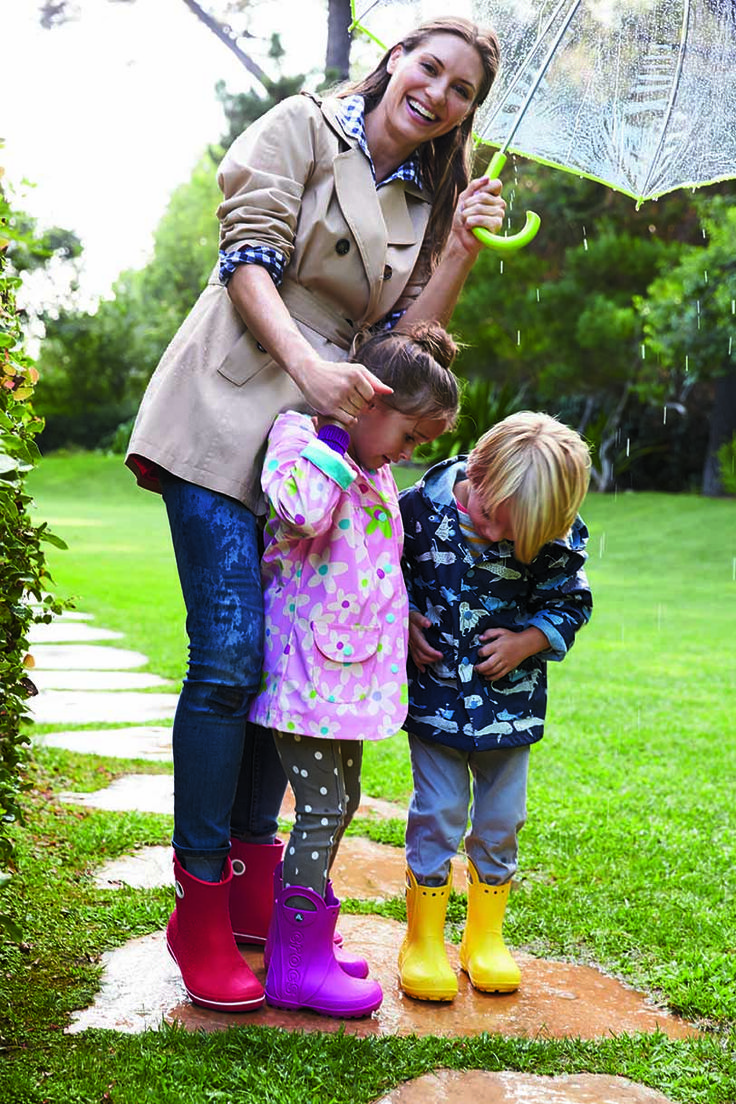 Combat Spring Showers With The Crocs Kid S Handle It Rain