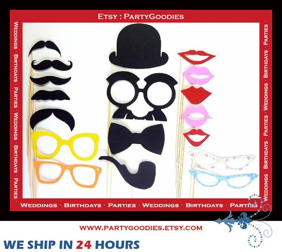 Photo Booth Props Wedding Ideas For My Friends