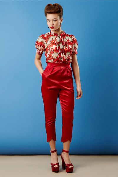 The Capris - Red