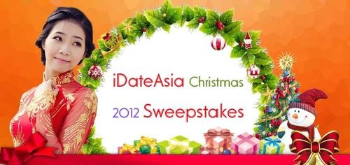 Click to get the PRIZE!!!!!!!!!!!  http://on.fb.me/TYniB3  iDateAsia Christmas Sweepstakes