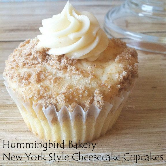 My Favorite Things: Hummingbird Bakery New York Style Cheesecake Cupcakes with recipe