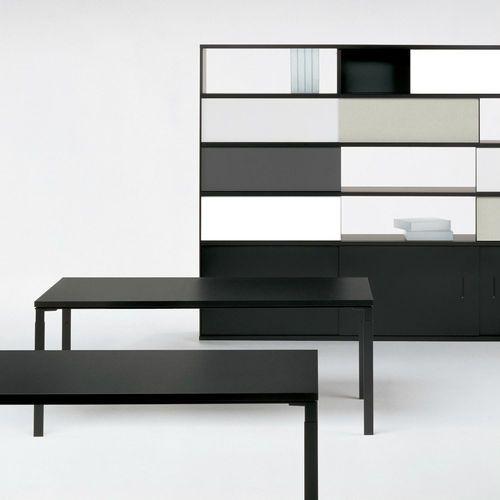 Libreria moderna / per ufficio / in HPL / di Marc Krusin WA Knoll international