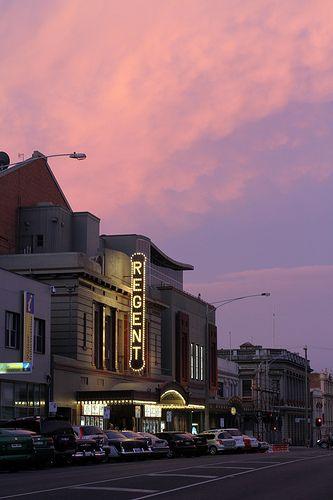 Ballarat at dusk