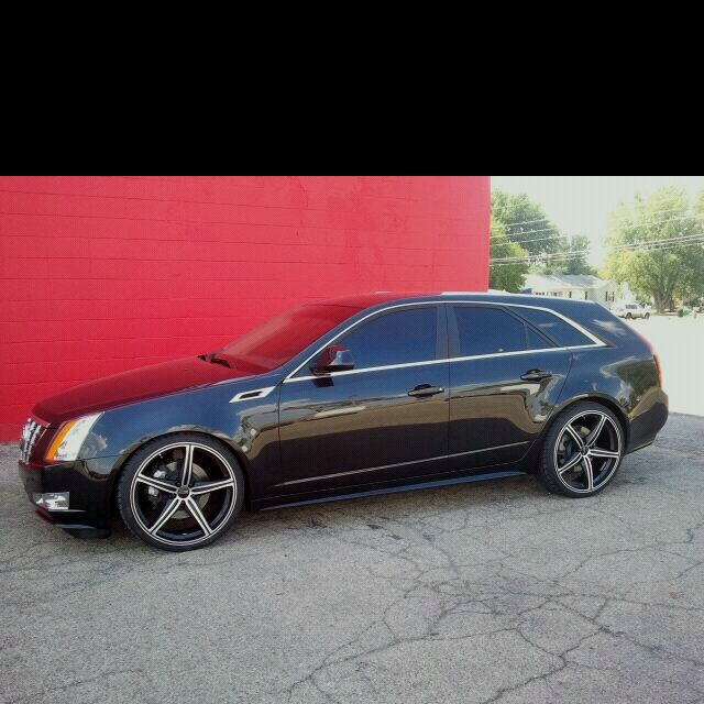 Cadillac Cts V Wagon For Sale: Mark's 2013 Cadillac CTS Sport Wagon ... Lowered, Windows