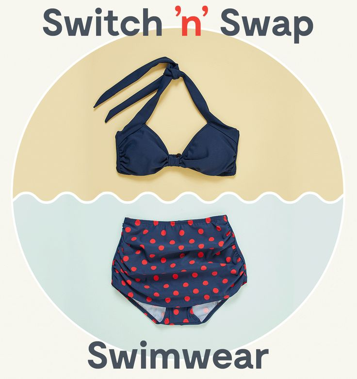 Mod cloth swimwear email gif
