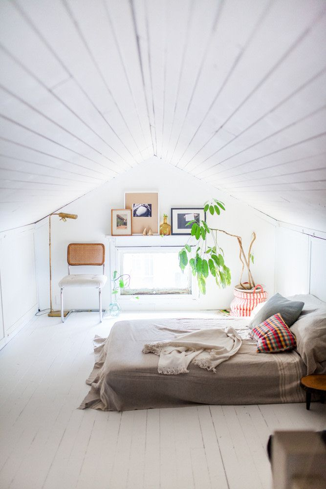 Low Ceiling Height Tips How To Make Room Look Bigger Attic