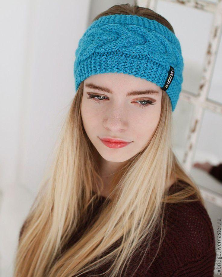 "Купить Повязка вязаная ""Lollipop"" - повязка, повязка на голову, повязка для волос, повязка для девушки"