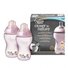 http://idealbebe.ro/tommee-tippee-closer-to-nature-biberon-decorat-340-ml-p-9359.html Tommee Tippee - Closer to Nature Biberon Decorat 340 ml x 2