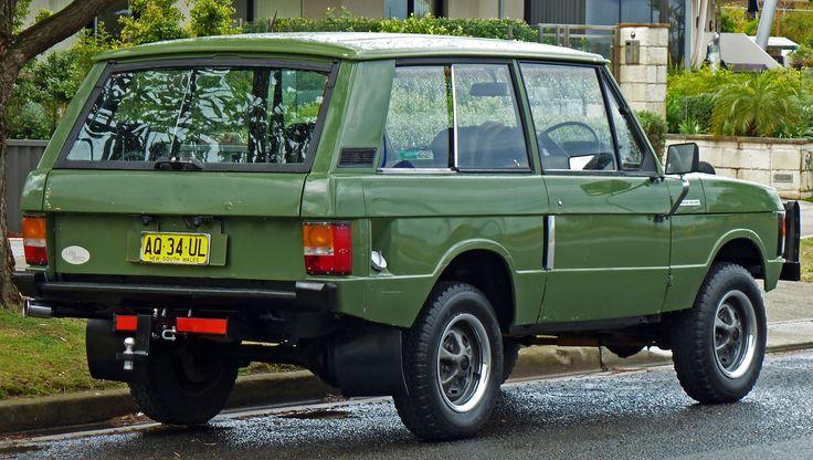 1972-1984 Land Rover Range Rover 3-door wagon 02 - Range Rover