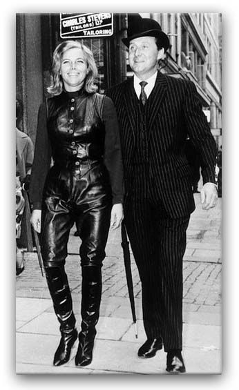 Patrick Macnee Avengers | HONOR BLACKMAN AND PATRICK MACNEE - THE AVENGERS