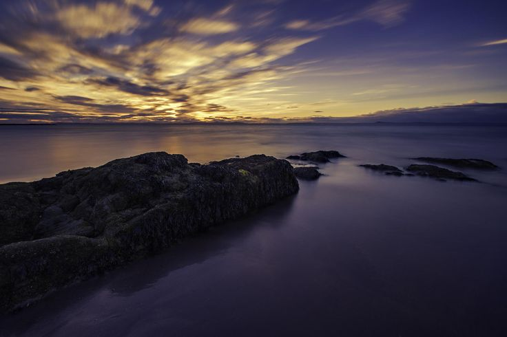 Gullane Beach at Sunset by Philip Cormack on 500px