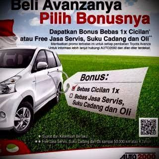 Kredit Mobil Avanza Promo Toyota Auto2000 Setiabudi Bandung