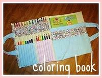 coloring book bag