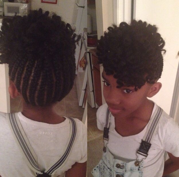 Astounding 1000 Images About Kids Braids On Pinterest Cornrows Kid Braids Hairstyles For Men Maxibearus
