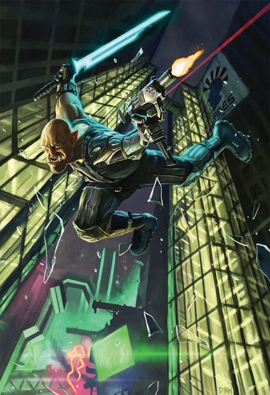 Shadowrun: Anarchy Cover Development