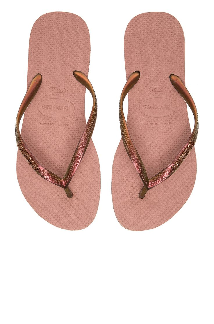 Havaianas Slim Furta Flip Flop in Crocus Rose | REVOLVE
