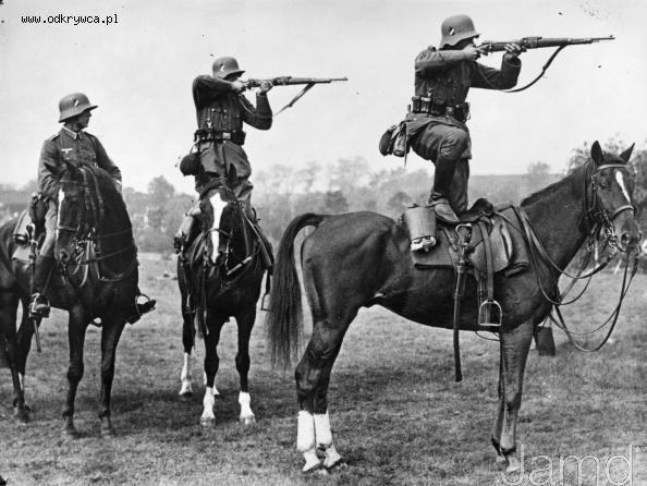 German Calvary circa WWII